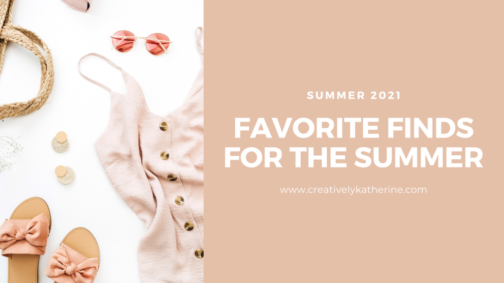 Favorite Retail Finds for the Summer