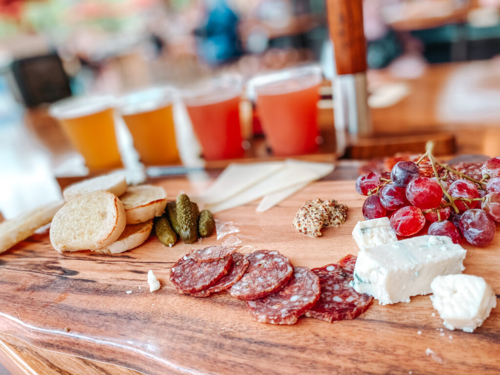 Charcuterie board from Baseline Tap House at Disney's Hollywood Studios